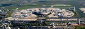 Världens största flygplats - Charles de Gaulle, Frankrike Flygplats