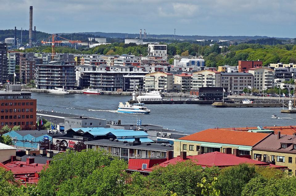 Sveriges största städer - Göteborg