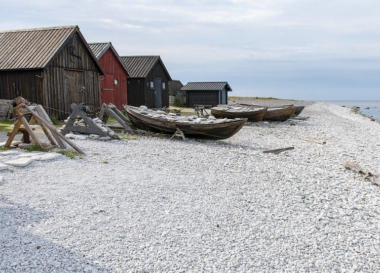 Gotländskt landskap Samuelssons Rapport