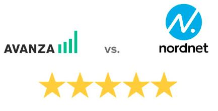 Avanza eller Nordnet – Vilken nätmäklare är bäst av Nordnet eller Avanza?