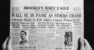 börskrasch 1929