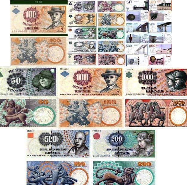 Danska sedlar
