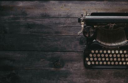lorem ipsum text - Samuelssons Rapport - skrivmaskin