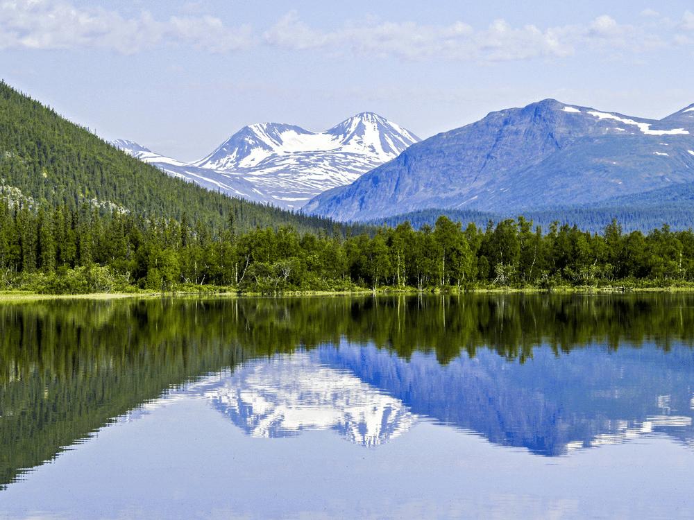 Lappland- Sveriges största landskap