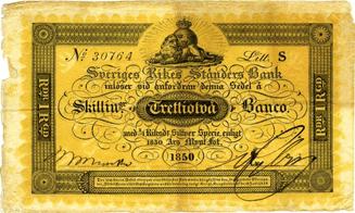 moderna svenska sedlarna
