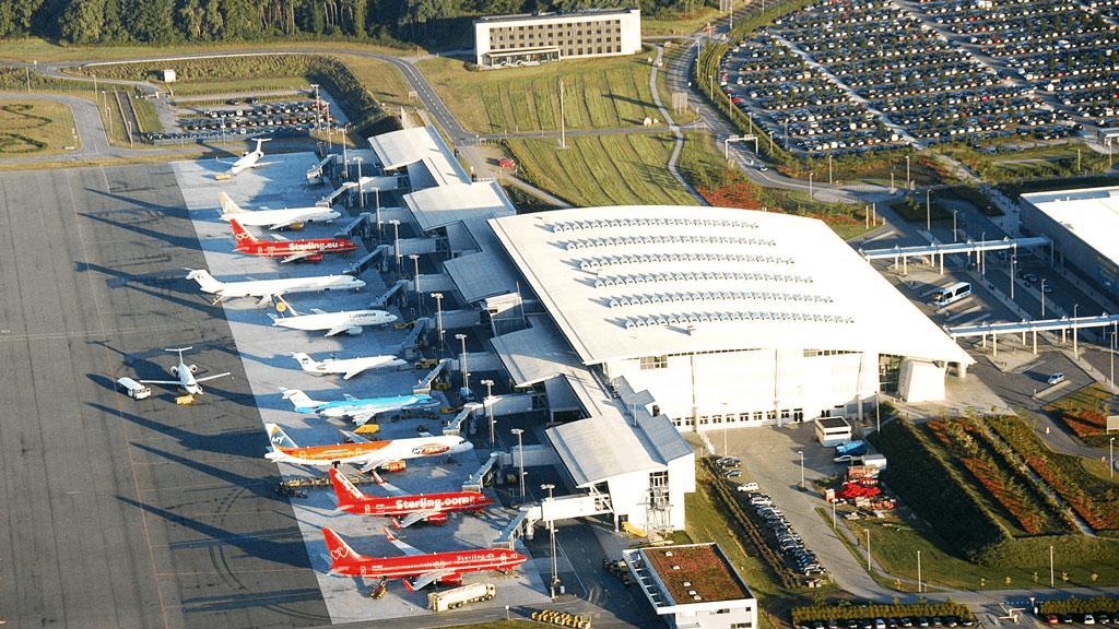 Nordens största flygplatser - Billund Danmark