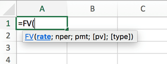 Räkna ränta på ränta formel i Excel