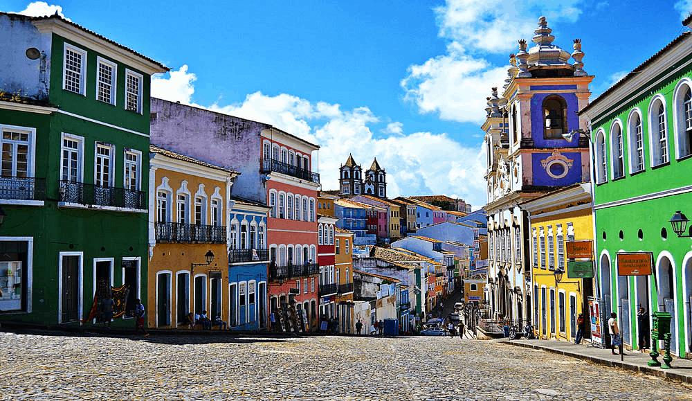 salvador- Störst stad i Sydamerika