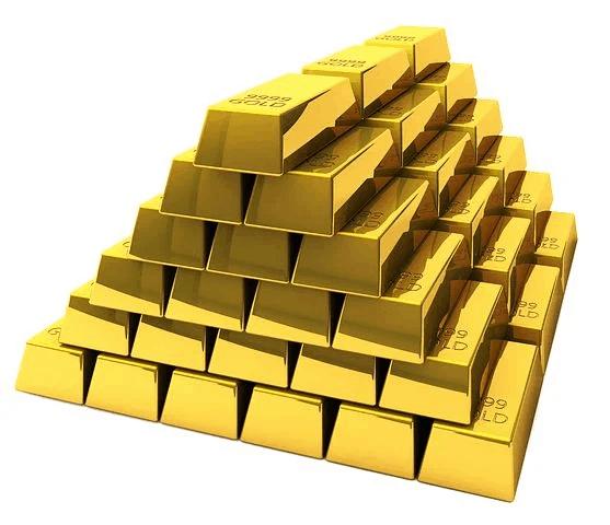 Guldfond med guldtackor