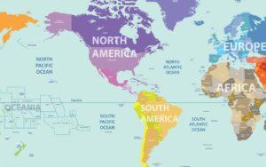 störst länder i Nordamerika