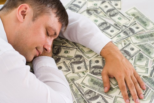 tjäna pengar medan du sover